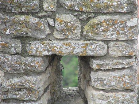 Castle, Arrow Slit, Arrow, Slit, Fortification, Wall