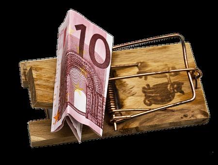 Case, Money, Mousetrap, Snap To, Dollar Bill, Bill