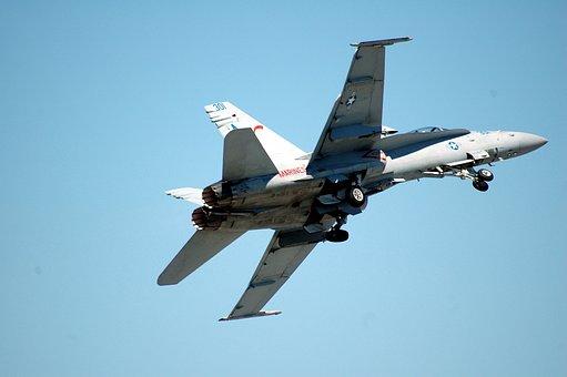 Jet Aircraft, In Flight, Speed, Jet, Aircraft, Flight