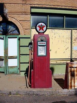 Antique, Gas Pump, Gas, Old, Pump, Fuel, Station, Retro