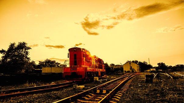 Steam Locomotive, Composition, Railway, Benzotsisterna