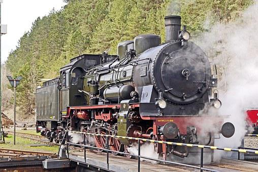 Steam Locomotive, Br38, P8, Prussian, In Operation, Hub