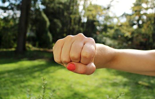 Fist Bump, Anger, Hand, Aggression, Strength, Strong