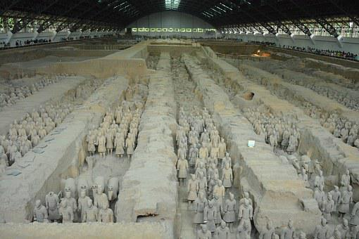Terracotta Warriors, China, Tourism, Army, Chinese