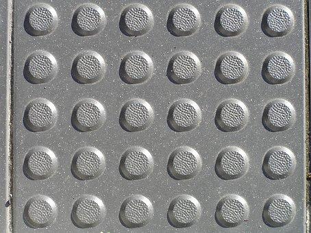 Pavement, Texture, Bumps, Rounded, Concrete, Pattern