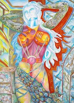 Woman, Portrait, Female, Liberty, The Framework