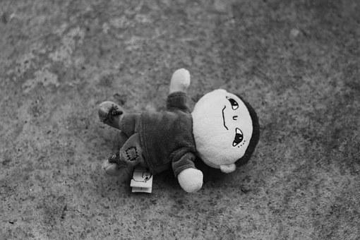Alfons, Toys, Black And White, Pocky