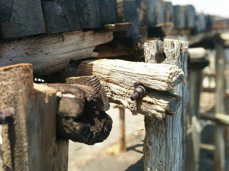 Old, Wood, Rail, Vintage, Wooden, Transport, Train