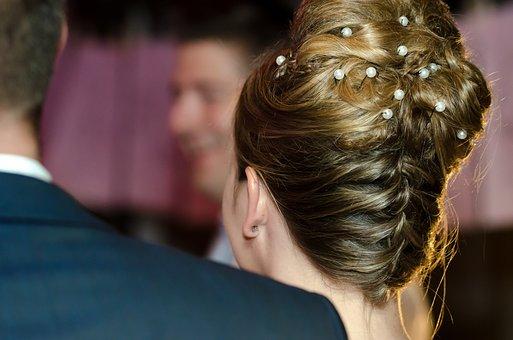 Wedding, Updo, Bun, Blond, Bride And Groom, Photo Shoot