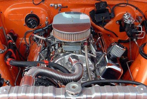Car Engine, Engine, Motor, Car, Vehicle, Auto