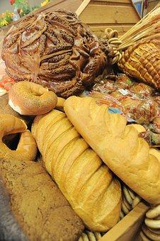 Bread, Food, Buns, Goodies, Wheat, Grain