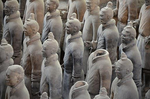 China, Xi'an, Mausoleum, Emperor, Qin, Terracotta Army