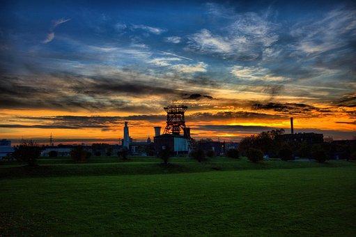 Gelsenkirchen, Zeche Consol, Ruhr Area, Bill, Mining