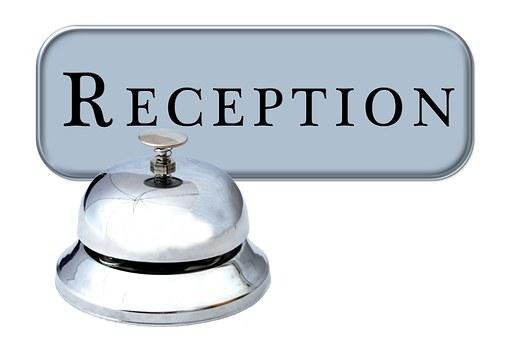 Hotel, Reception, Check In, Registration, Bell, Service