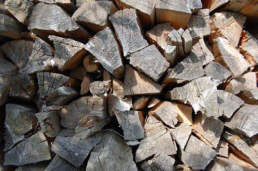 Firewood, Pile, Tree, Billet, Lap, Deadwood, Stick