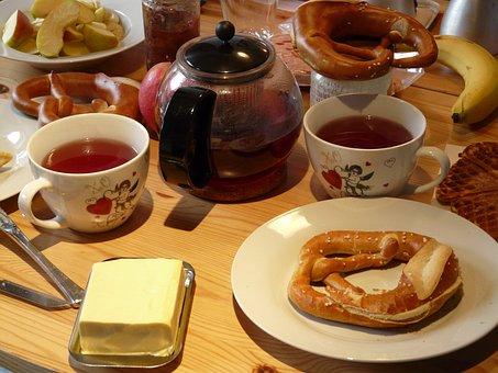 Breakfast, Butter, Breakfast Table, Have Breakfast, Tee