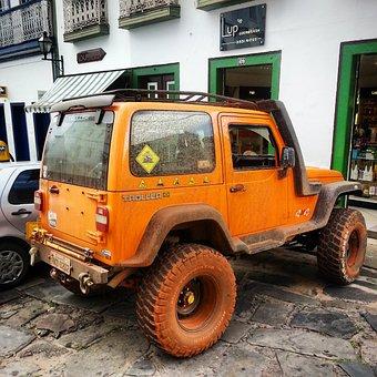 Jeep, Car, Vehicle, Transport, Transportation, Auto