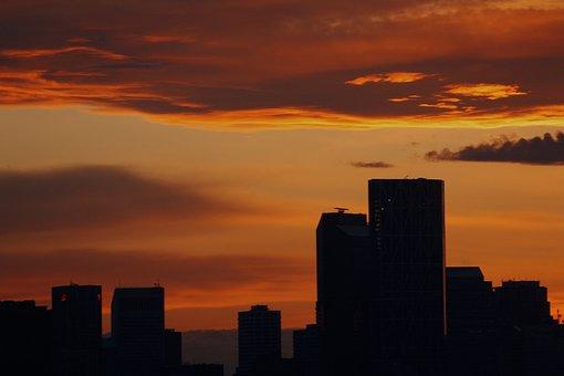 Calgary, Alberta, Canada, Cityscape, Downtown, City