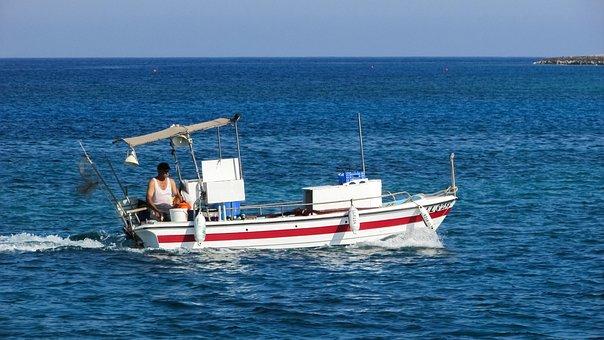 Fishing Boat, Traditional, Fishing, Fisherman, Old Man