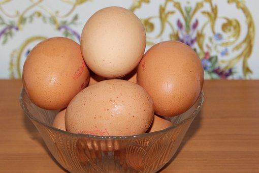 Egg, Chicken Eggs, Nutrition, Food, Eggshell