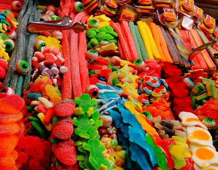 Candy, Gummy, Sweets, Children, Treats, Eyes, Colorful