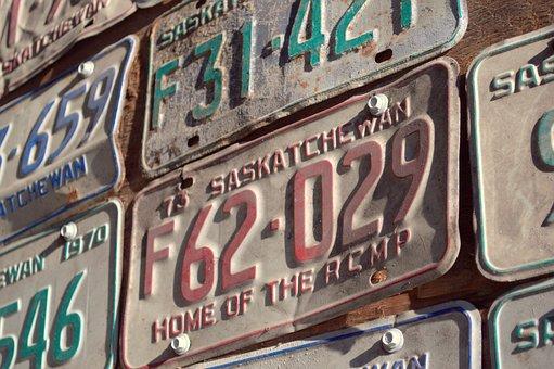Licence Plates, Car, Plates, Automobile, Vehicle