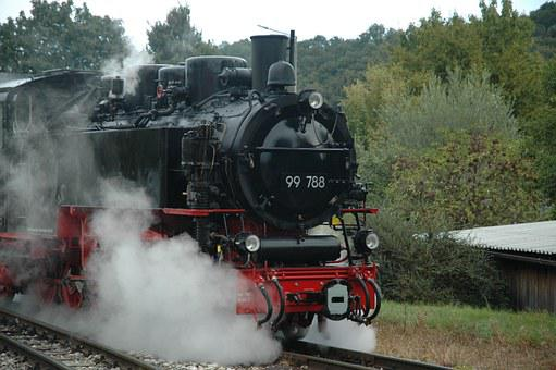 Steam, Railway, Train, Loco, Steam Locomotive