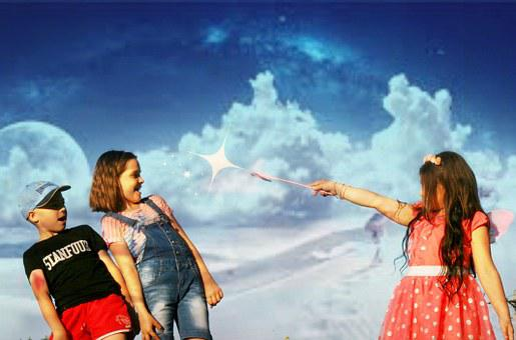 Kids, Spell, Magic, Magic Wand, Fantasy, Cloud