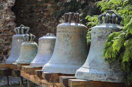Bell, Casting, Antique, Museum, Old, Exhibition, Bells