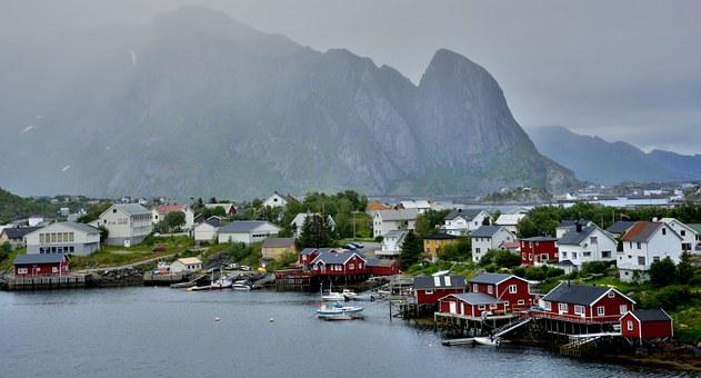 Lofoten, Norway, Islands, Fisherman's Village, Nordic