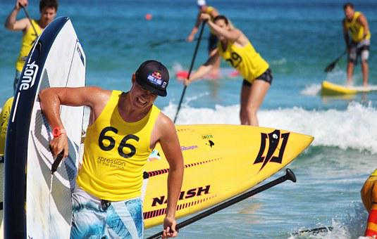 Stand Up Paddling, Sup, Paddle Board, Water Sports