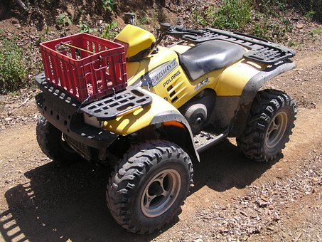 Atv, Quad, Four Wheel, Bike, Extreme, Sport, Vehicle
