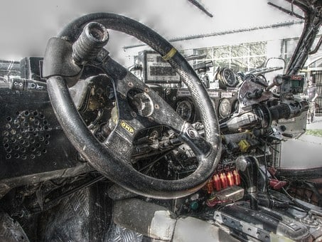 Car, Steering Wheel, 4 X 4, Off-road, Off Roader, Rally