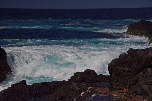 Water, Sea, Surf, Color, Mood, Spray, Coast, Wave