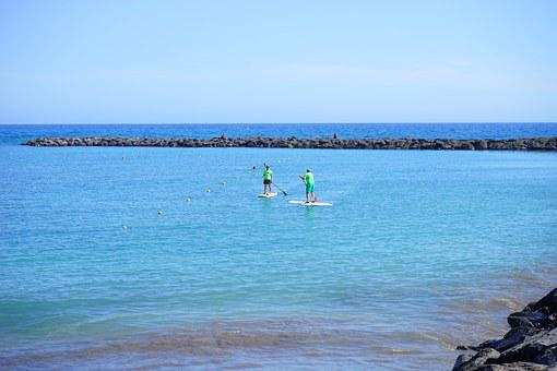 Stand Up Paddling, Stand Paddle, Sup, Water Sports