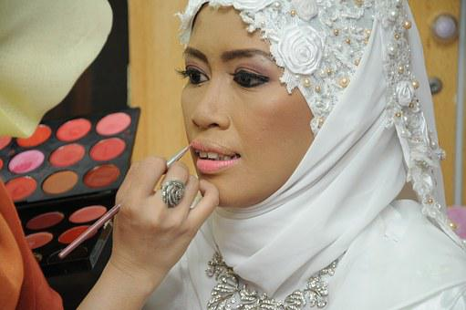 Wedding, Bride, Makeup, Getting Ready, Tradition