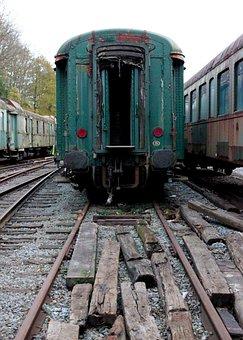 Wagon, Siding, Discarded, Trains, Railway Station