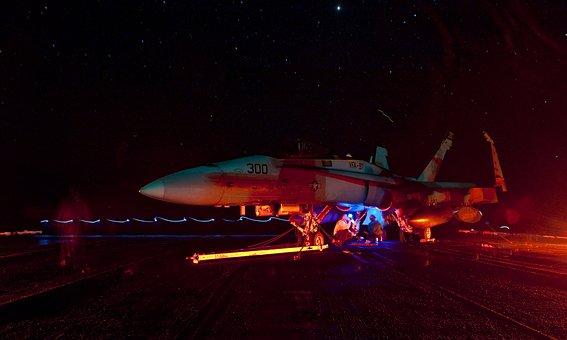 Us Navy, Sailors, Military, Jet, Plane, Aircraft