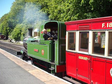 Train, Classic, Vapor, Railroad, Transport, Vintage