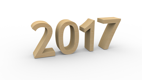 Years, Calendar, Party, 2017, New Year, End Of The Year