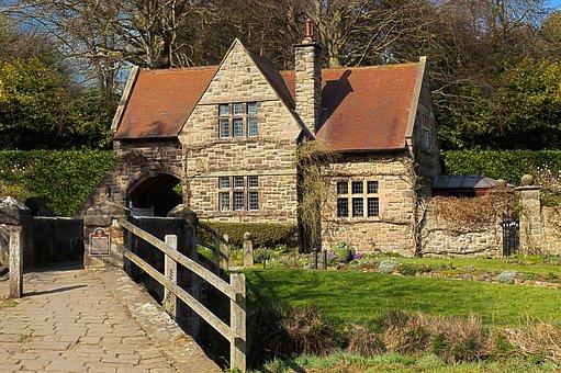 Ancient, Architecture, Beautiful, Building, Cottage