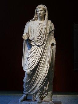 Caesar Augustus, Sculpture, Roman, Archeology, Museum