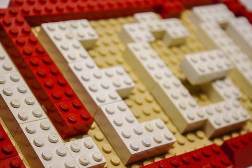 Lego, Toys, Font, Building Blocks, Play, Children, Fun