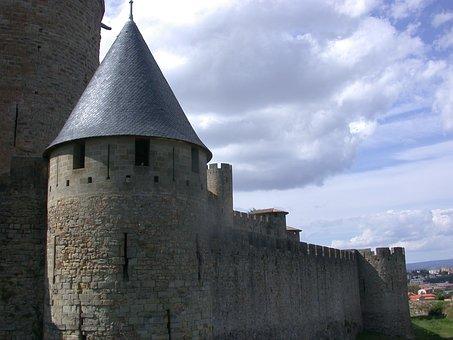 Carcassonne, City, Medieval Castle