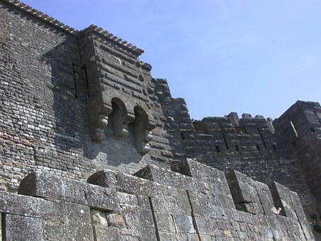 Carcassonne, City, Medieval Castle, Stone Wall