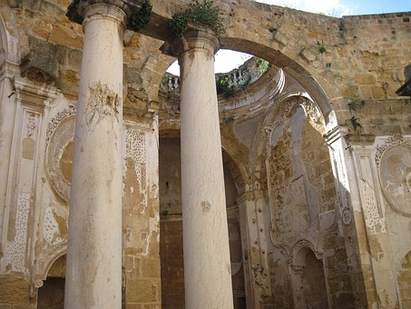 Southern Europe, Church, Old Church, Ruin, Church Ruins