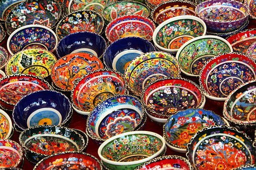 Art, Background, Bowl, Ceramic, Color, Colorful, Decor