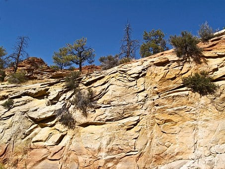 Zion National Park, Rock, Formations, Erosion