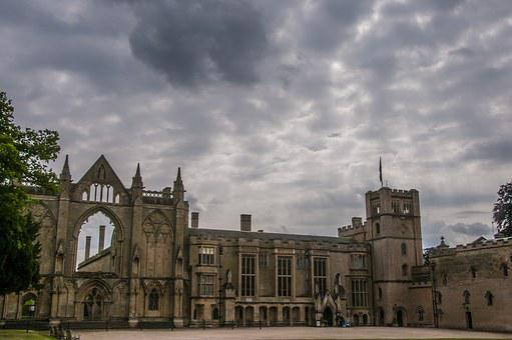 Newstead Abbey, Historical, Abbey, Aged, Building