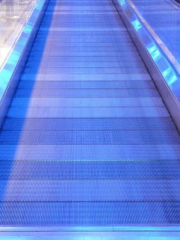 Metal Segments, Moving Walkway, Roller Platform
